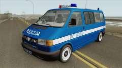 Volkswagen Transporter Mk4 Policija V1 1999 for GTA San Andreas