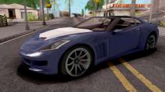 Invetero Coquette GTA 5 Blue for GTA San Andreas