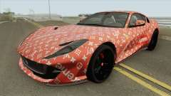 Ferrari 812 Superfast (Supreme X Luis Vouitton) for GTA San Andreas