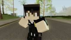 Police Minecraft Skin V2 for GTA San Andreas