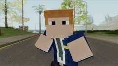 FBI Minecraft Skin for GTA San Andreas