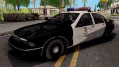 Chevrolet Caprice 1991 San Fierro Police for GTA San Andreas