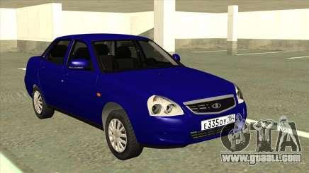 VAZ 2170 Stok Blue for GTA San Andreas
