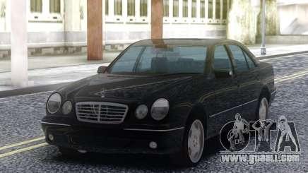 Mercedes-Benz E55 Sedan Black for GTA San Andreas
