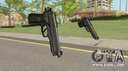 Firearms Source Beretta M9 for GTA San Andreas