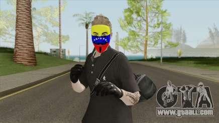 Piel Anonymous Venezuela for GTA San Andreas