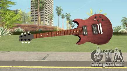 Guitar HD for GTA San Andreas