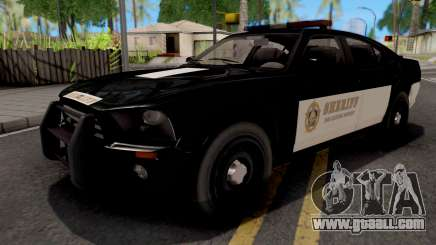 Bravado Buffalo Police Sheriff for GTA San Andreas