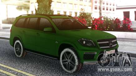 Mercedes-Benz GL 63 AMG Green for GTA San Andreas