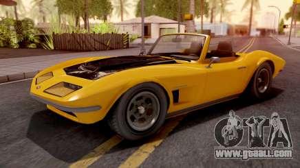 GTA V Invetero Coquette Classic TL for GTA San Andreas