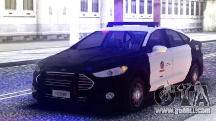 Ford Mondeo Police Interceptor for GTA San Andreas