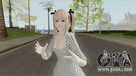 Marie Rose White Dress (DoA 5) for GTA San Andreas