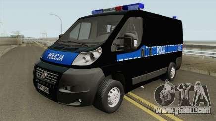 Fiat Ducato Polskiej Policji for GTA San Andreas