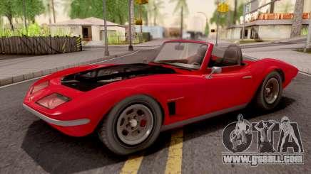 GTA V Invetero Coquette Classic TL Stock for GTA San Andreas