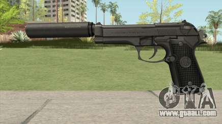 Firearms Source Beretta M9 Suppressed for GTA San Andreas