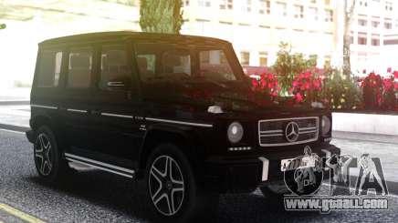 Mercedes-Benz G63 AMG Black for GTA San Andreas