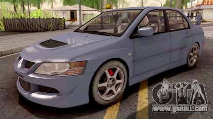 Mitsubishi Lancer EVO 8 Sedan for GTA San Andreas