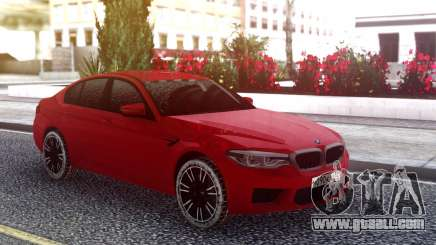 BMW M5 F90 Red Snow for GTA San Andreas