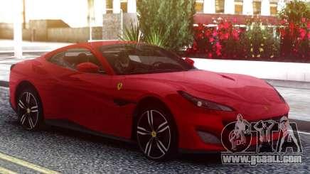 Ferrari Portofino 2018 Red for GTA San Andreas