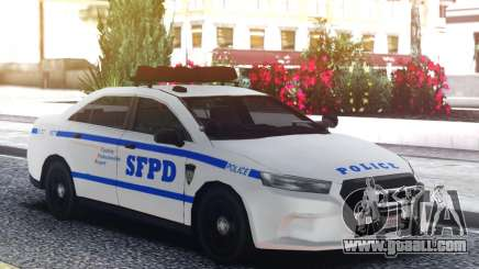 Ford Taurus Police Interceptor Engine for GTA San Andreas