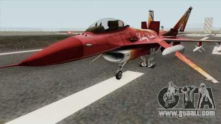 Fighter GTA V (Lady Ludo) for GTA San Andreas