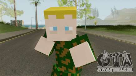 Army Minecraft Skin for GTA San Andreas