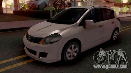 Nissan Tiida SA Style v2 for GTA San Andreas
