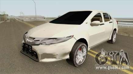 Honda City 2013 Low Poly for GTA San Andreas