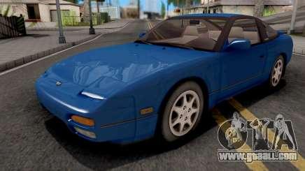 Nissan 240SX Blue for GTA San Andreas