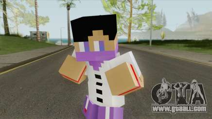 Ballas Minecraft Skin for GTA San Andreas