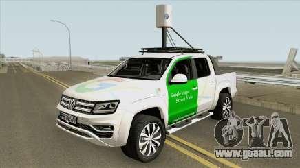 Volkswagen Amarok V6 2018 (Google Street View) for GTA San Andreas