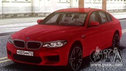 BMW M5 F90 TURBO for GTA San Andreas