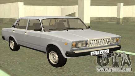 VAZ 2107 stock Sedan for GTA San Andreas