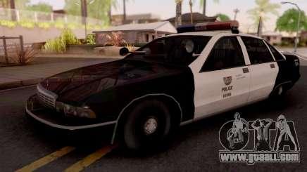 Chevrolet Caprice 1991 Los Santos Police for GTA San Andreas