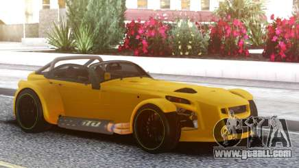 Donkervoort D8 GTO Yellow for GTA San Andreas