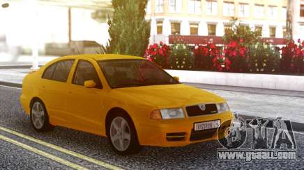 Skoda Octavia RS Orange for GTA San Andreas