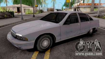 Chevrolet Caprice 1991 Civil Variant for GTA San Andreas