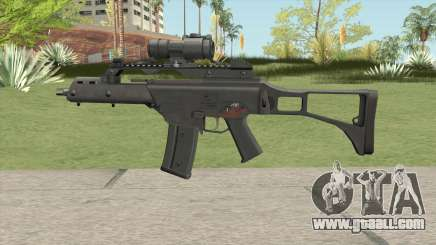 Firearm Source G36C With Aimpoint for GTA San Andreas
