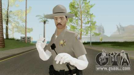 SAHP Officer Skin V5 for GTA San Andreas