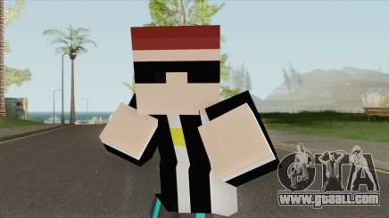 Aztaceas Minecraft Skin for GTA San Andreas