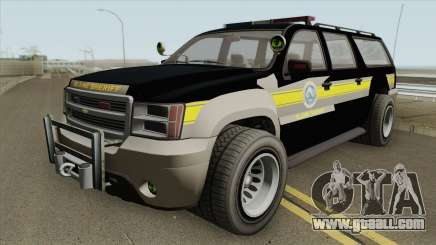 Chevrolet Suburban (Sheriff Blaine County) for GTA San Andreas