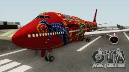 Boeing 747-400 RR RB211 (Qantas Livery) for GTA San Andreas