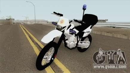 Moto Policia Argentina for GTA San Andreas