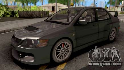 Mitsubishi Lancer EVO IX MR for GTA San Andreas
