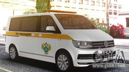 Volkswagen T5 Rostransnadzor for GTA San Andreas