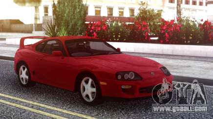 Toyota Supra Red Stock for GTA San Andreas
