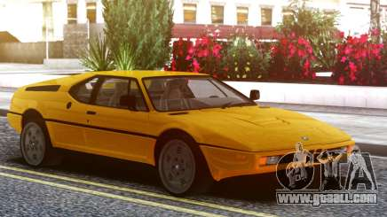 BMW M1 E26 79 for GTA San Andreas