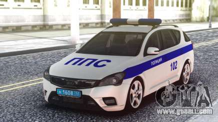 Kia Ceed Police for GTA San Andreas