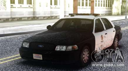 Ford Crown Victoria Police Interceptor Classic for GTA San Andreas