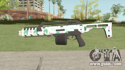 Special Carbine MK2 GTA V (Seapunk) for GTA San Andreas